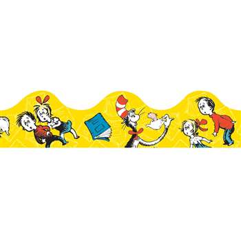Cat In The Hat Yellow Deco Trim By Eureka