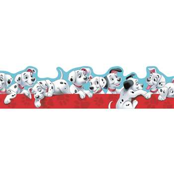 Shop 101 Dalmatians Puppies Extra Wide Die Cut Deco Trim - Eu-845211 By Eureka