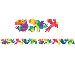You Can Toucan Extra Wide Deco Trim Die-Cut, EU-845282