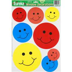 Window Cling Smiles 12 X 17 By Eureka