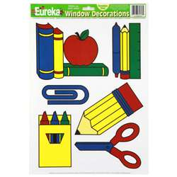 Window Cling School Tools 12 X 17 By Eureka