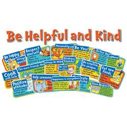 Dr Seuss Be Kind And Helpful Bulletin Board Set, EU-847040