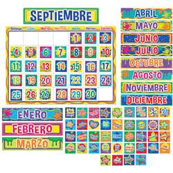 Color My World Spanish Calendar Bulletin Board Set, EU-847048