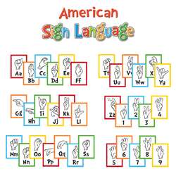 Dr Seuss Sign Language Alphabet Mni Bulletin Board, EU-847056