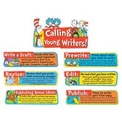 Dr Seuss Writing Tips Mini Bulletin Board Set, EU-847060
