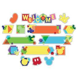 Geo Mickey Welcome Mini Bulletin Board St, EU-847067