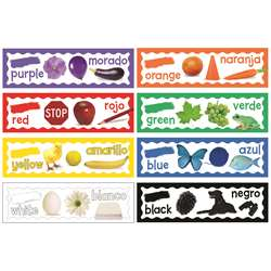 Colors Mini Bulletin Board Set By Eureka