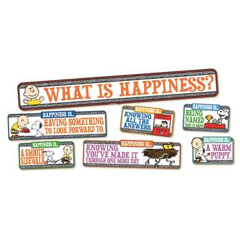 Shop Peanuts Happiness Is Mini Bbs - Eu-847102 By Eureka