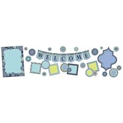 Blue Harmony Welcome Bulletin Board Set, EU-847547