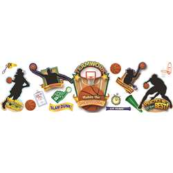 Basketball Bulletin Board Set By Eureka