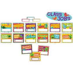 A Sharp Bunch Job Chart Mini Bulletin Board Set, EU-847772