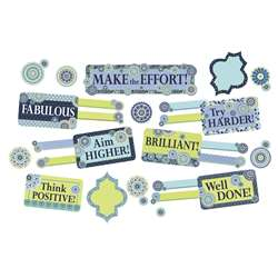 Blue Harmony Class Manage Mini Bulletin Board Set, EU-847778