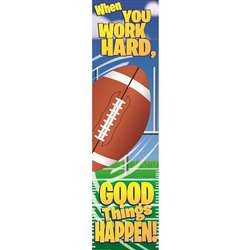 Football Motivational Banner 4Ft By Eureka