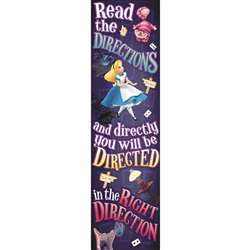 Shop Alice In Wonderland Right Direction Vertical Banner - Eu-849034 By Eureka