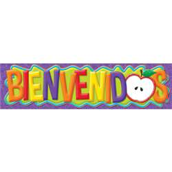 Color My World Spanish Welcome Horizontal Banners, EU-849273