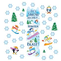 Winter Allinone Door Decor Kits, EU-849301