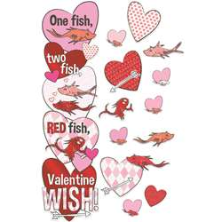 1 Fish 2 Fish Valentines Day Door Decor Kit, EU-849330