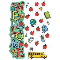 Back To School Welcome Door Decor Kit, EU-849337