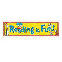 Classroom Banners Reading Is Fun By Eureka