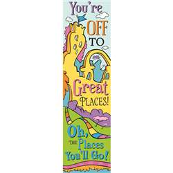 Dr Seuss Oh The Places Vertical Banner, EU-849903