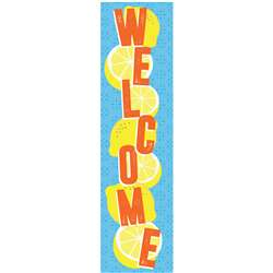 Always Try Your Zest Welcome Banner Vertical, EU-849941