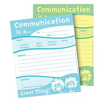 Dr Seuss Communication Duplicate Notes, EU-863204