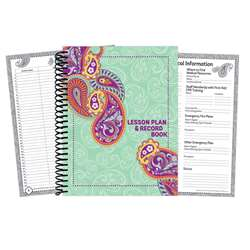 Positively Paisley Lesson Plan And Record Book, EU-866433