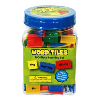 Word Tiles Parts Of Speech 160/Pk Color Coded By Eureka