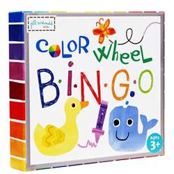 Color Wheel Puzzle Bingo Game, EU-BJPB13743