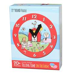 Learning To Tell Time Farm Puzzle Round, EU-BJPR18561
