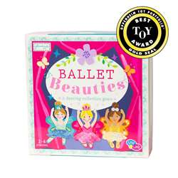 Ballet Beauties Paper Board Game, EU-BKBG16520