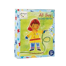 All Boy Lacing Cards, EU-BLC12284