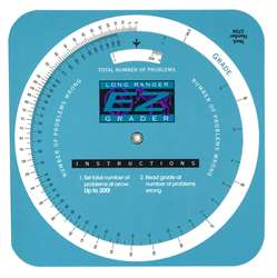 E-Z Gr Circular Long Ranger Score Up To 200 Questions By E-Z Grader