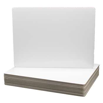 Magnetic Dry Erase Board 12Pk 9X12 Class Pack By Flipside