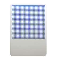Single 1/4In Graph Dry Erase Board 11 X 16 By Flipside