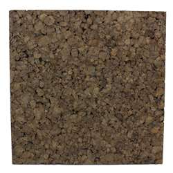 12X12 Dark Cork Squares 4 Pack, FLP12058