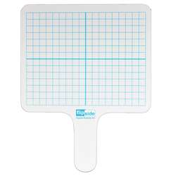 Rectangle Graph Answer Paddle Dry Erase, FLP18003