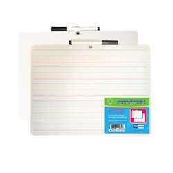 Primary Ruled Dry Erase Board with Marker, FLP19034