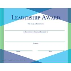 Glass Leadership Award, FLPGS004