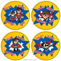 Superhero Stickers, FLPSH005