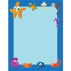 Under The Sea Border Paper 50 Pack, FLPUS300