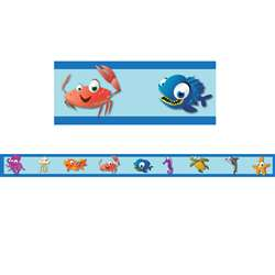 Under The Sea Border Trim, FLPUS401
