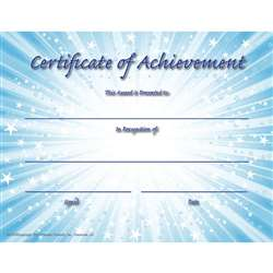 Certificate Of Achievement, FLPVA707