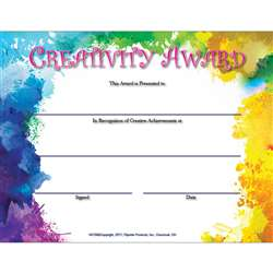 Creativity Award, FLPVA709