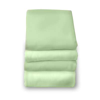 Safefit Mint Elastic Fitted Sheet Full Size By Foundations