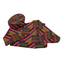 Ethnic Costumes Boys West African Shirt & Hat By Childrens Factory
