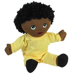 African Boy Doll with Sweat Suit