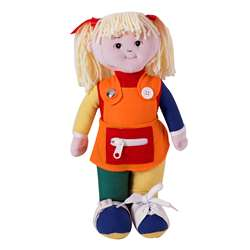 Learn To Dress Doll White Girl By Childrens Factory