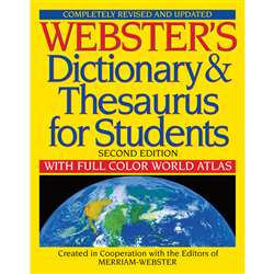 Websters Dictionary & Thesaurus For Students Second Edition By Federal Street Press