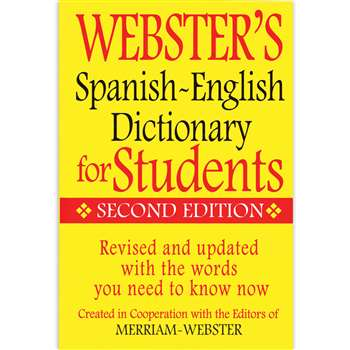 Websters Spanish English Dictionary For Students, FSP9781596951655